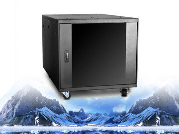 WQ-990, iStar USA, 9U 900mm Depth Ultimate Quiet Server Cabinet