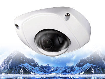 4.1MP IP 2.8mm Infrared Dome Security Camera
