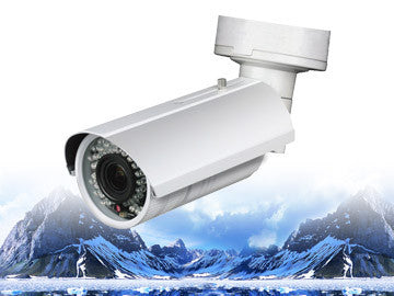 CMIP8433-Z 3MP IR 2.7~9mm Varifocal Lens Bullet Security Camera Motorized , LTS