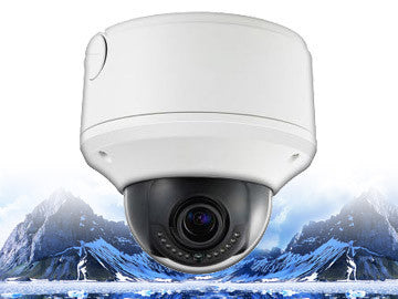 CMIP3923-Z 2MP IR 2.8~12mm Motorized Lens Dome Security Camera Infrared Varifocal, LTS
