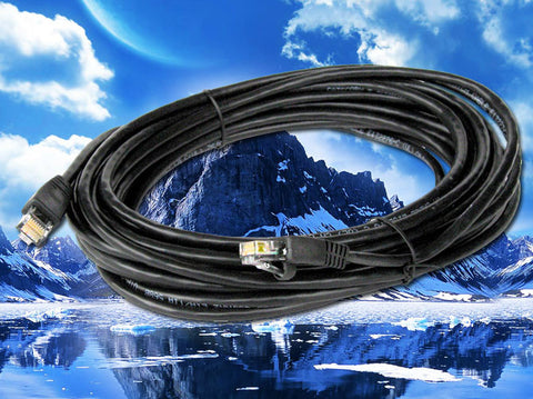100ft Commercial Grade 350Mhz CAT5e PreMade Cable