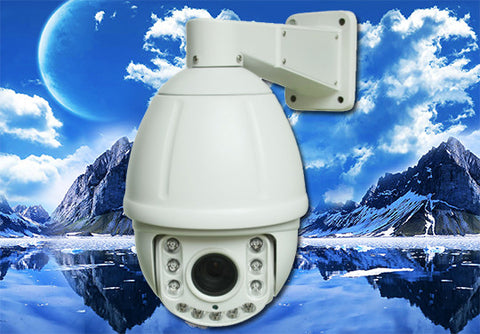 1080P 2.1 Megapixel HD-TVI 18X Infrared PTZ Camera