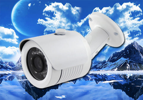 1080P 2.1 Megapixel HD-TVI White Infrared Bullet Camera 3.6mm Lens