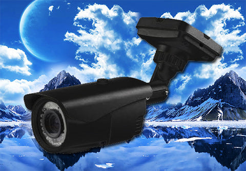 1080P 2.1 Megapixel HD-TVI 72 LED High Definition Security Infrared Bullet Camera 2.8~12mm Lens