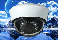 1080P HD-TVI Infrared White Indoor Dome Camera, 2.8mm~12mm
