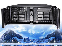 QUICKSILVER 4U NVR SERVER UP TO 128 CHANNELS DW SPECTRUM