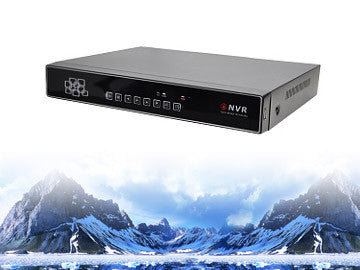 SSN-DE0412FH 4 Channel NVR High Definition ONVIF Video Recorder, CCTV Star