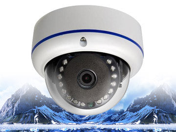 720P HD-CVI Infrared Security Outdoor Vandal-Resistant 3.6mm Dome Camera