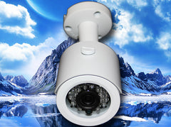SC-960-FBIR-WHITE 700TVL 960H IR WHITE BULLET CAMERA CCD 24 LED 3.6MM LENS SONY EFFIO-E, Saber CCTV