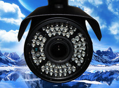 1080P INDOOR/OUTDOOR ADJUSTABLE FOCUS BULLET 150 FT NIGHT VISION ONE BLACK CAMERA KIT
