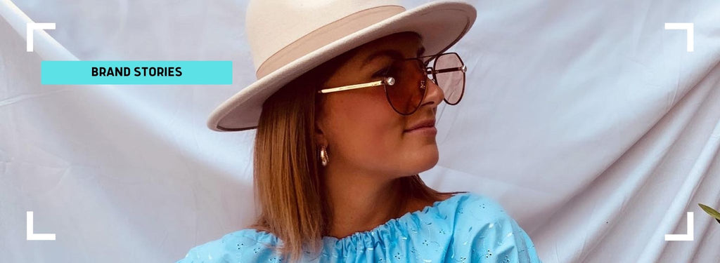 Lucy Clayton founder of LM bespoke with her story behind how she started up