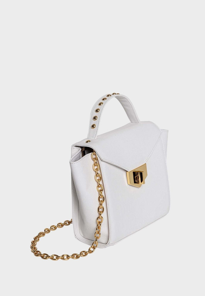 Midi Koa White Bag