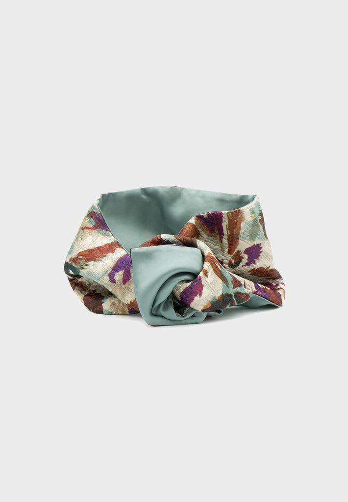 Sophie Headband Limited Edition - Jacquard, Watercolour Flower