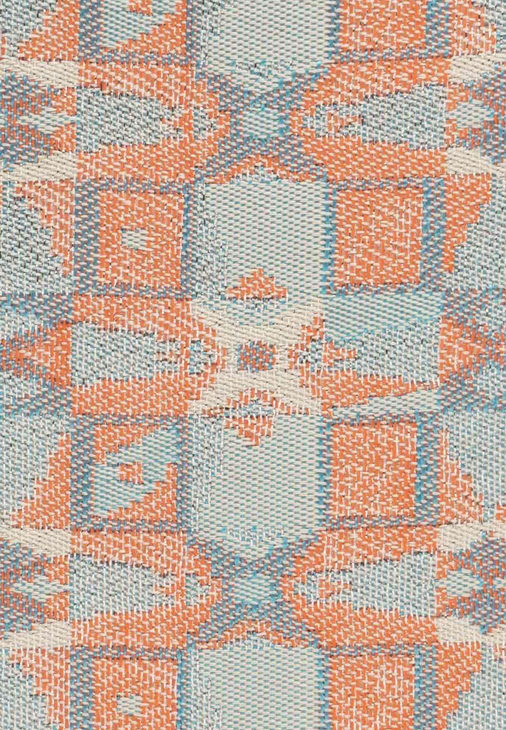 Sophie Headband Limited Edition - Jacquard Light Blue, Orange