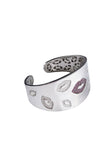 Lip Bangle White Rhodium