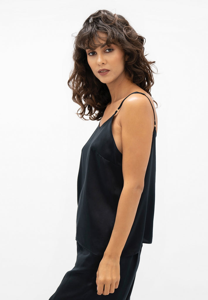 Kingston LHR - Cami Top - Black