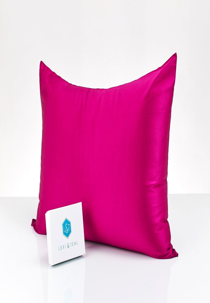 Raspberry Beetroot Pillowcase