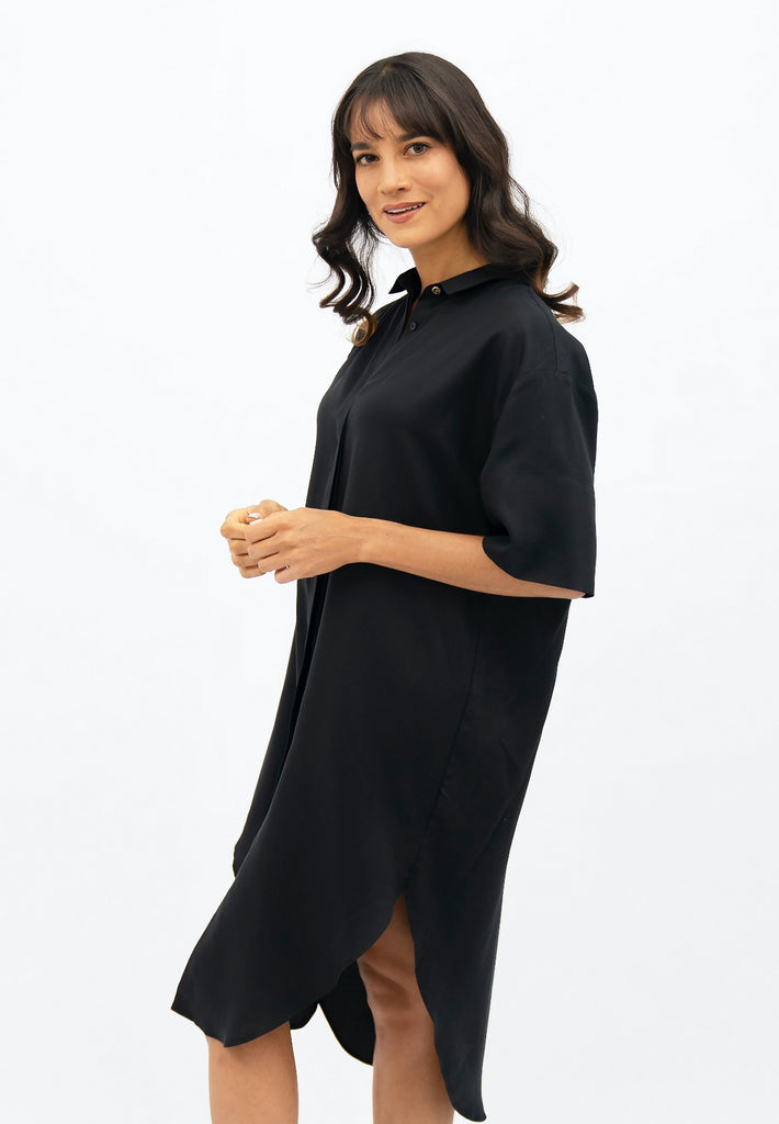 Seville SVQ - Midi Dress - Licorice