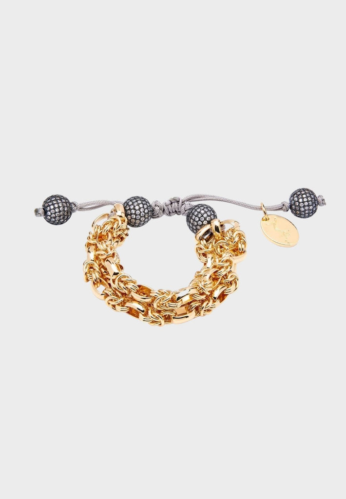 Handmade designer Bracelet with Zircon beads for tassels