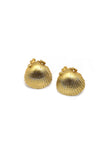 Seashell studs 9ct Earrings