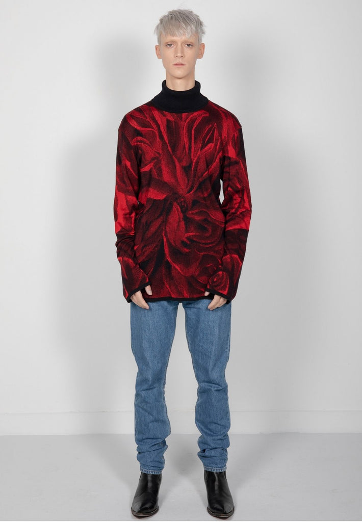 Rollneck Red Roses