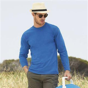 Fruit Of The Loom Mens Valueweight Long Sleeve T-Shirt - Promotions Only Group Limited