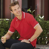 Fruit Of The Loom Men's Tipped Polo - Promotions Only Group Limited