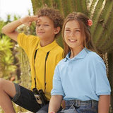 Fruit Of The Loom Children's 65/35 Pique Polo - Promotions Only Group Limited