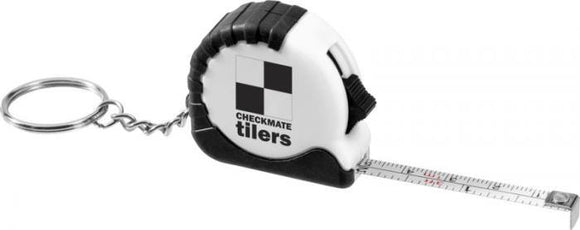 Tape Measure Keyring - Promotions Only Group Limited