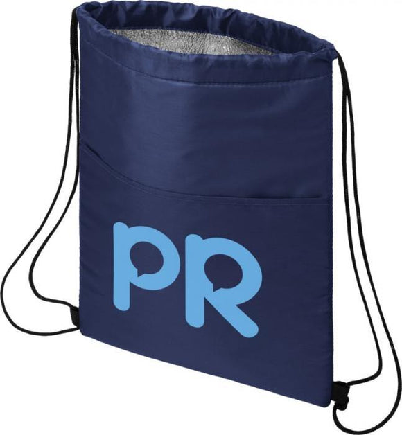 12-can Drawstring Cooler Bag Full Colour Print - Promotions Only Group Limited
