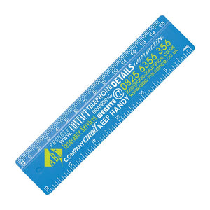 "15cm/12"" Plastic Ruler - Promotions Only Group Limited"
