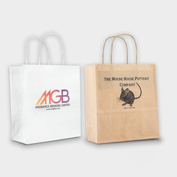 Mini Kraft Paper Bag Digital Print - Promotions Only Group Limited