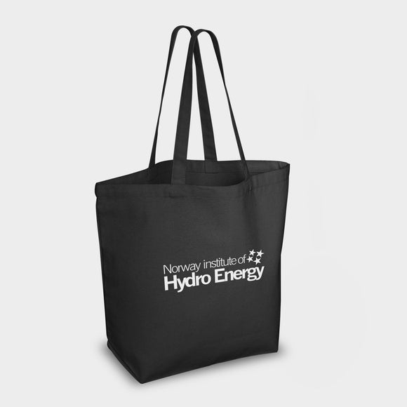 Bayswater Shopper Black Cotton Canvas 10oz Full Colour Print