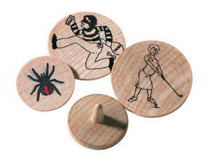 24mm Wooden Ball Marker
