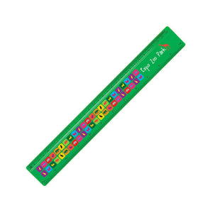 "30cm/12"" Plastic Ruler Full Colour Print on Colour - Promotions Only Group Limited"