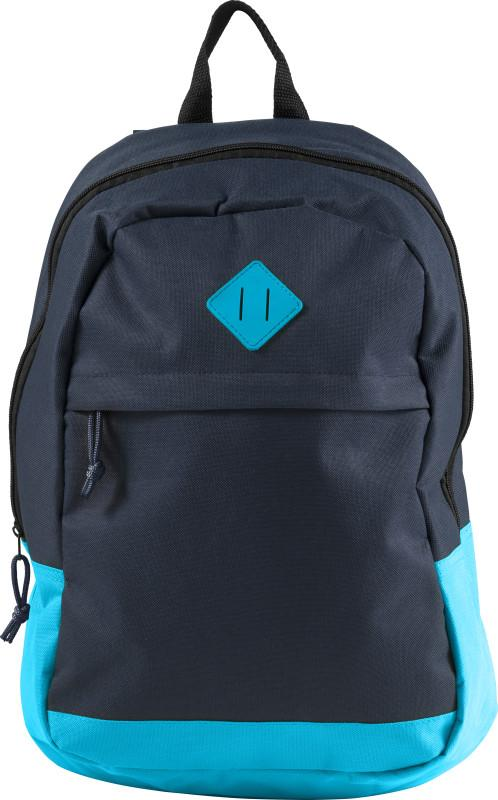 Two Tone Polyester Backpack - Promotions Only Group Limited