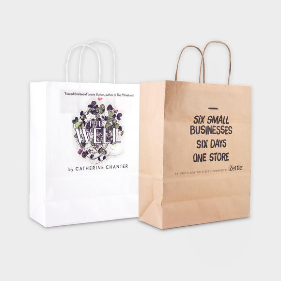 A4 Kraft Paper Bag Sustainable - One colour print - Promotions Only Group Limited