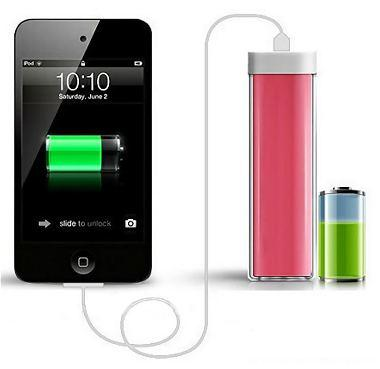 ABS power bank with 2200mAh Li-ion battery