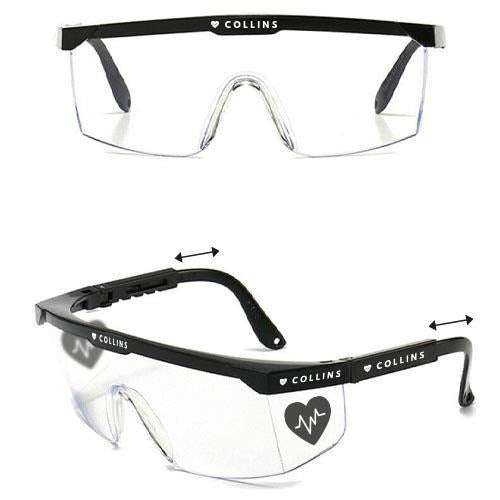 Anti-fog Safety Glasses - Black Frame - Promotions Only Group Limited