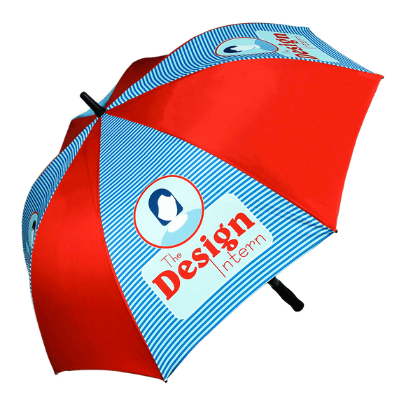 Auto Branded Golf Umbrella Soft Feel