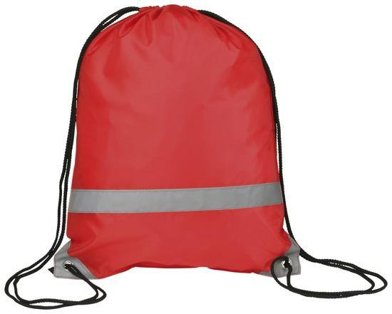 Reflective Drawstring Bag Full Colour Print - Promotions Only Group Limited