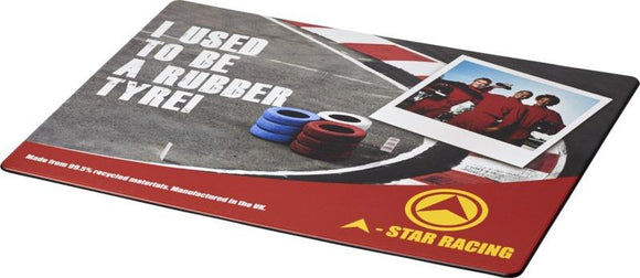 Brite-Mat® Mouse Mat with Tyre Material - Promotions Only Group Limited