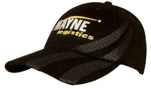Brushed Heavy Cotton Cap with Tyre Tracks - Promotions Only Group Limited
