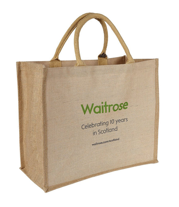 Canberra Jute Bag - Promotions Only Group Limited