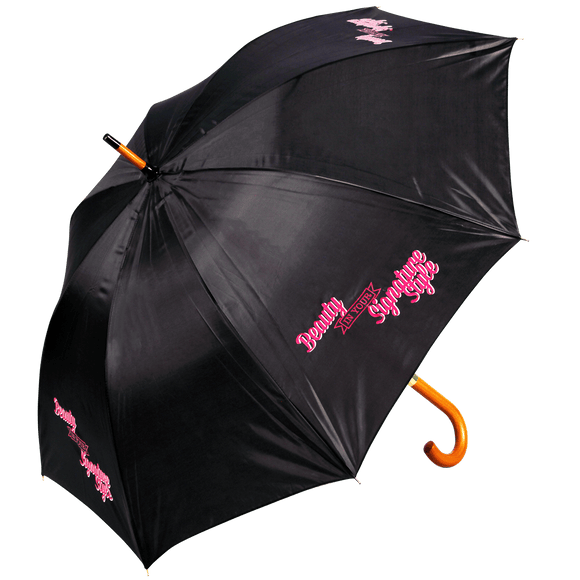 Corporate Wood Walking Umbrella - Promotions Only Group Limited