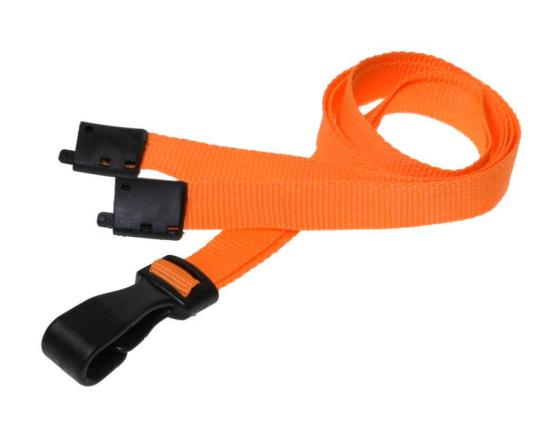 Essential Range 10mm Unbranded Lanyard in Orange