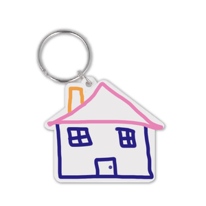 House Shape Keyring - Promotions Only Group Limited