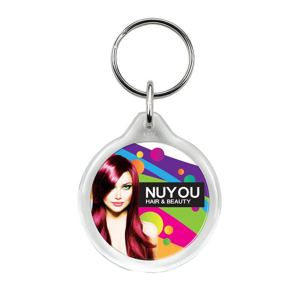 Round Keyring - Promotions Only Group Limited