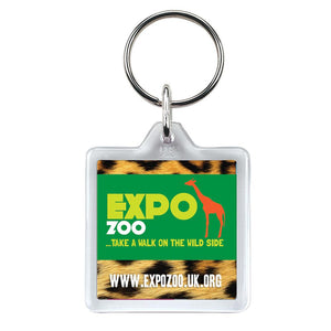 U1 Square Keyring - Promotions Only Group Limited