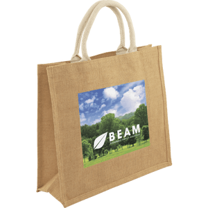 Medium Jute Bag Full Colour Print - Promotions Only Group Limited